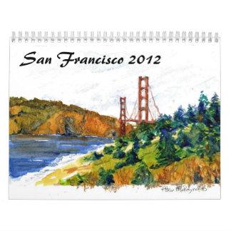 San Francisco and the Golden Gate Calendar