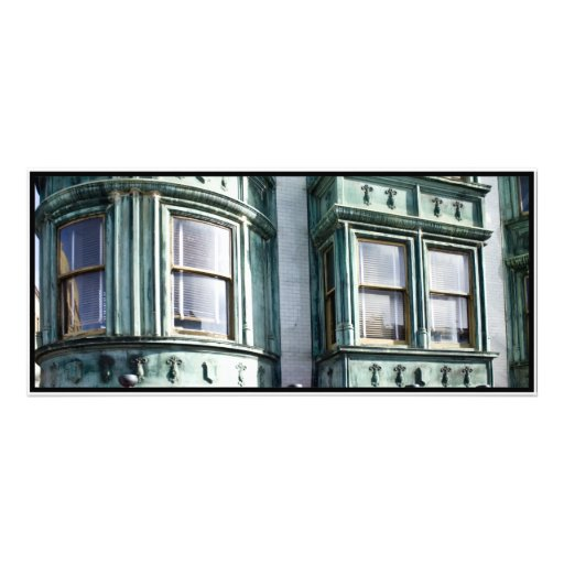 San Francisco Architecture Customized Rack Card