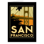 San Francisco Art Deco Travel Poster Cards