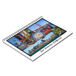 San Francisco Attractions Notebook