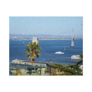San Francisco Bay #2 Canvas Canvas Print