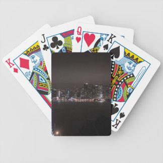 San Francisco Bay Bridge Bicycle Playing Cards