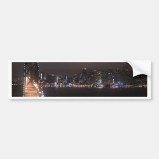 San Francisco Bay Bridge Bumper Sticker