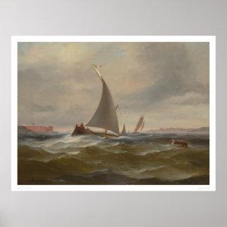 San Francisco Bay Felluca (1314) Poster