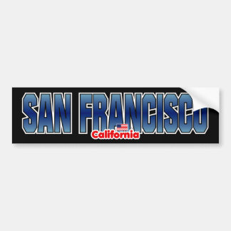 San Francisco Bumper Bumper Sticker