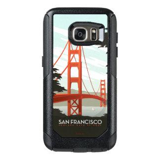 San Francisco, CA - Golden Gate Bridge OtterBox Samsung Galaxy S7 Case