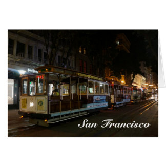 San Francisco Cable Car #3 Card