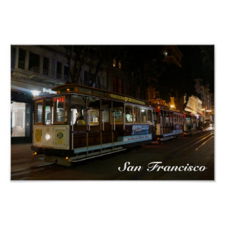 San Francisco Cable Car #3 Poster