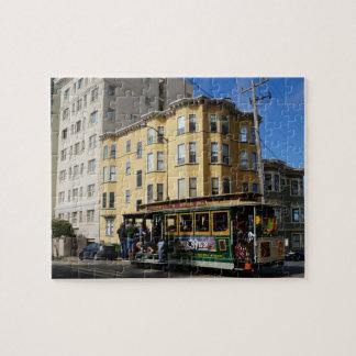 San Francisco Cable Car #4 Jigsaw Puzzle