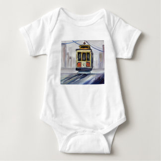 San Francisco Cable Car Baby Bodysuit