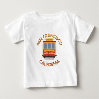 San Francisco Cable Car Baby T-Shirt