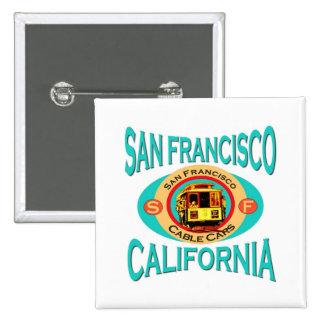 San Francisco Cable Car Buttons