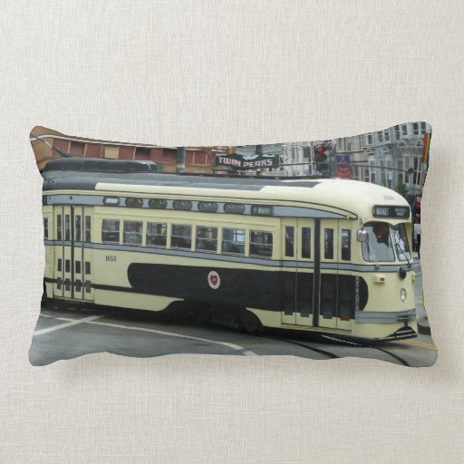San Francisco Cable Car Pillow