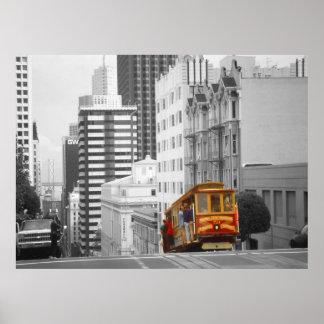 San Francisco Cable Car – Highlight Photo Art Poster