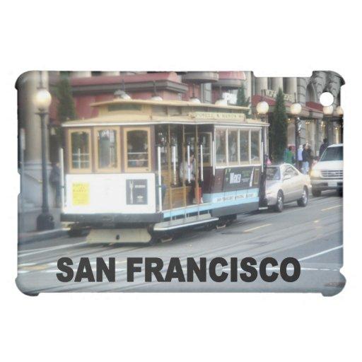 San Francisco Cable Car iPad Mini Covers