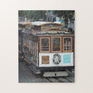 San Francisco Cable Car Jigsaw Puzzle