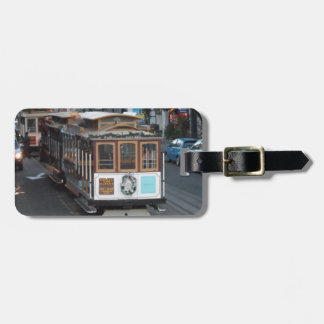 San Francisco Cable Car Luggage Tags