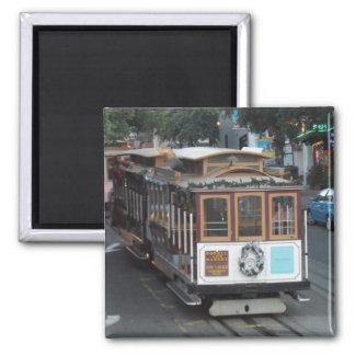 San Francisco Cable Car Fridge Magnet