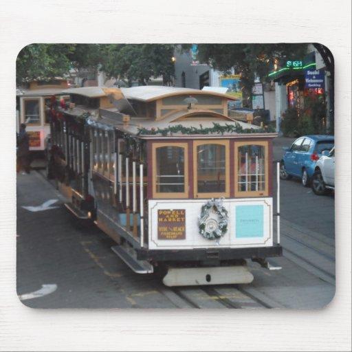 San Francisco Cable Car Mousepads