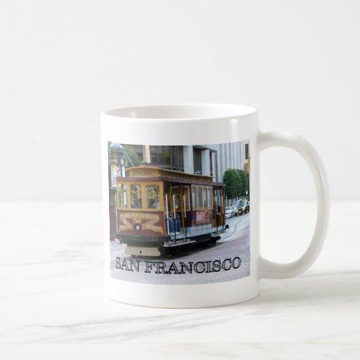 San Francisco Cable Car Mugs