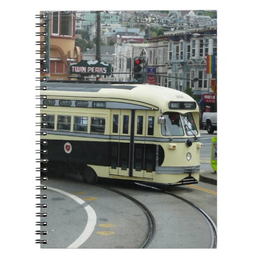 San Francisco Cable Car Notebook