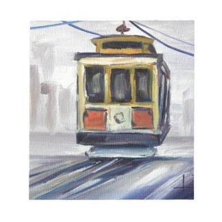 San Francisco Cable Car Notepad