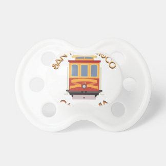 San Francisco Cable Car Pacifiers