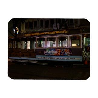 San Francisco Cable Car Photo Magnet