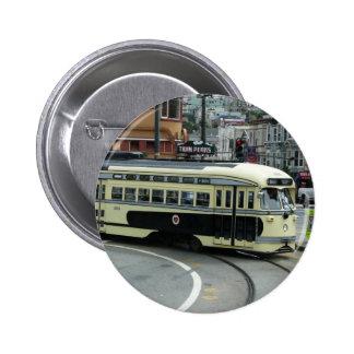 San Francisco Cable Car Pinback Button