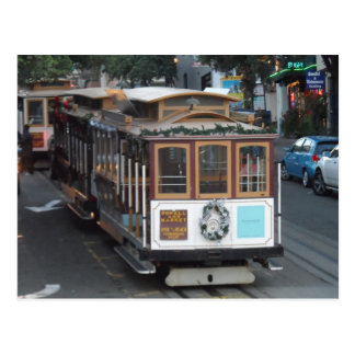 San Francisco Cable Car Postcard