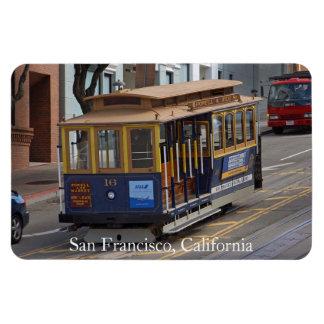 San Francisco Cable Car Premium Flexi Magnet