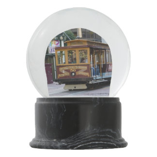 San Francisco Cable Car Snow Globes