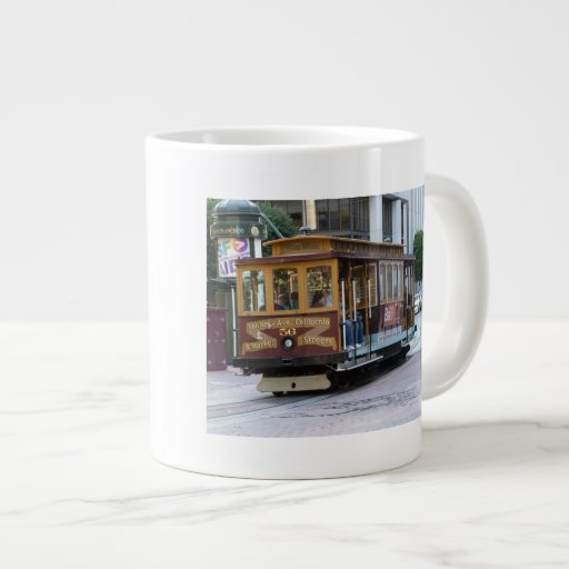 San Francisco Cable Car Jumbo Mugs