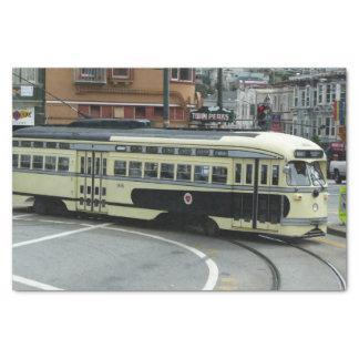 San Francisco Cable Car Tissue Paper
