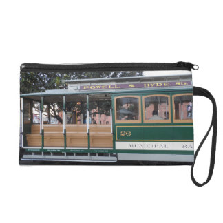 San Francisco Cable Car Wristlet Clutch