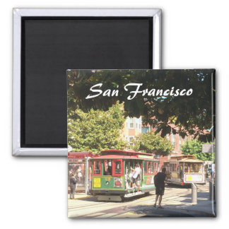 San Francisco Cable Cars Magnet