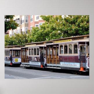 San Francisco Cable Cars Print