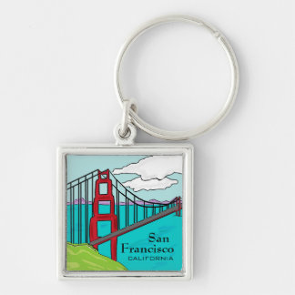 San Francisco Cali golden gate bridge keychain