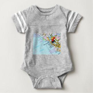 San Francisco, California Baby Bodysuit