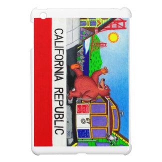 San Francisco California Bear Flag Cover For The iPad Mini