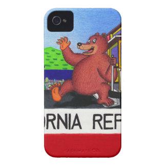 San Francisco California Bear Flag iPhone 4 Case-Mate Case