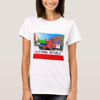San Francisco California Bear Flag T-Shirt