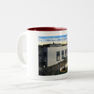 San Francisco, California, Bridge Terminal Vintage Two-Tone Coffee Mug