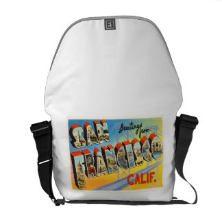 San Francisco California CA Old Travel Souvenir Commuter Bags