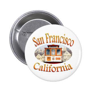 San Francisco California Cable Car Pins