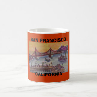 SAN FRANCISCO, CALIFORNIA COFFEE MUG