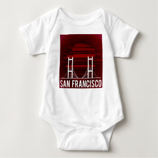 San Francisco California Golden Gate Bridge Baby Bodysuit