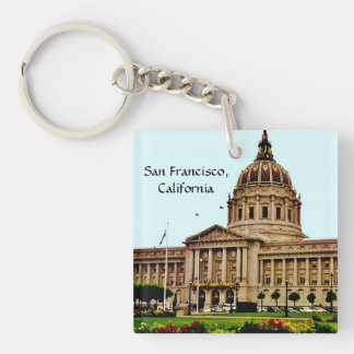 San Francisco, California Key Ring