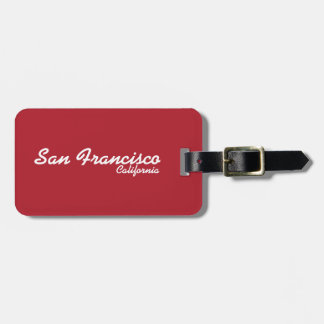 San Francisco, California Luggage Tag