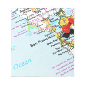San Francisco, California Notepad